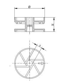 Ekscentrikas ECM ø25 ir ø35